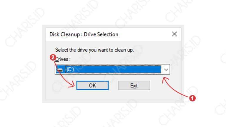disk cleanup agar windows tidak lemot
