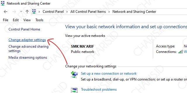 Cara Memperbaiki No Internet Access