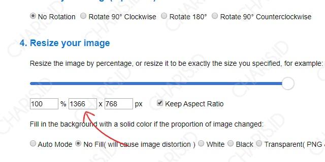 Cara Memperbesar Gambar JPG Online