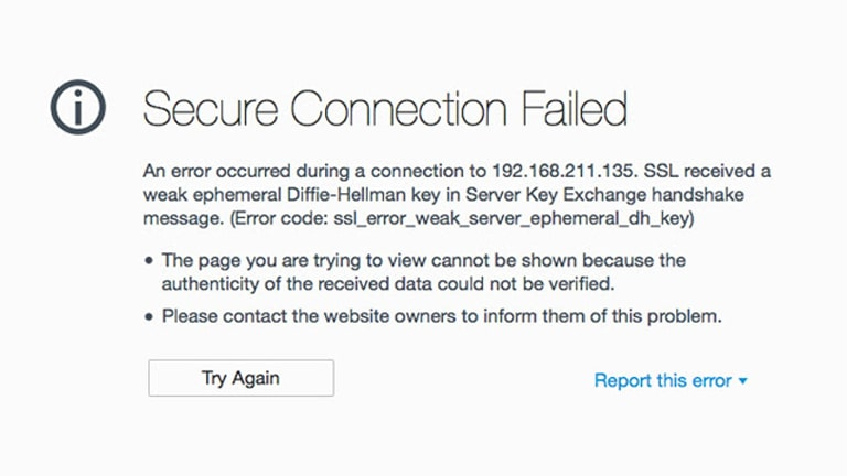 Cara Mengatasi Secure Connection Failed