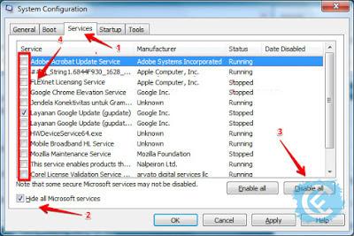 Cara Mengatasi Windows 7 Lemot