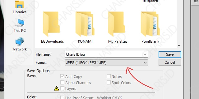 Memperbesar File JPEG dengan Photoshop