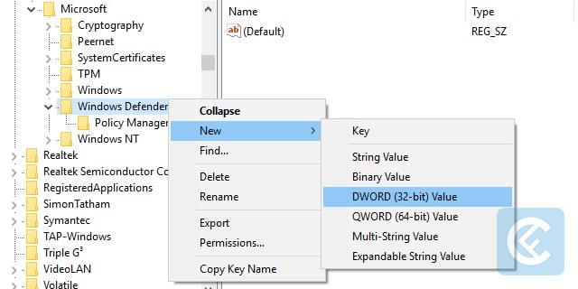 Menonaktifkan Windows Defender