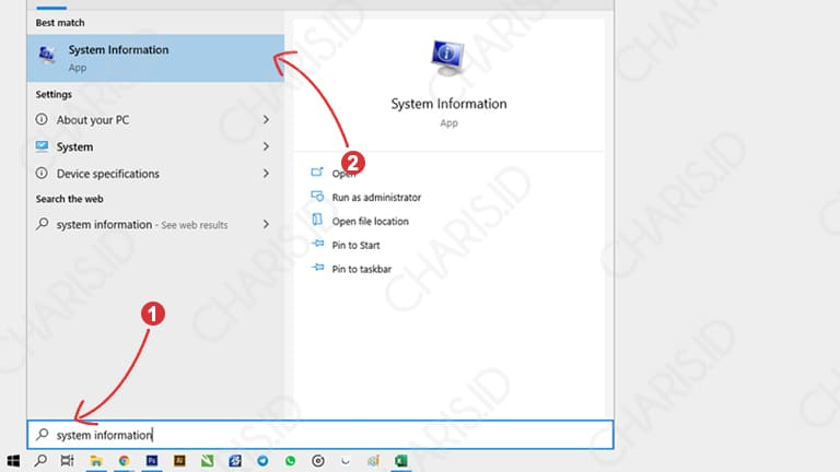Buka System Information