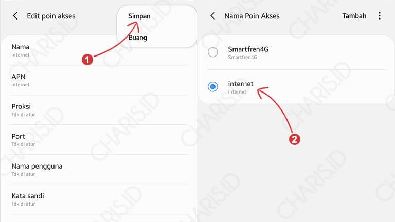 Cara Mengganti APN Android