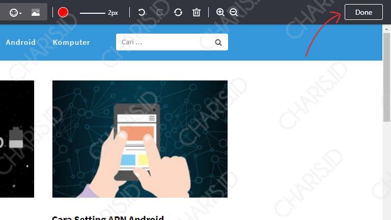 Cara Screenshot Panjang Chrome