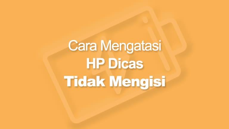 HP Dicas Tidak Mengisi