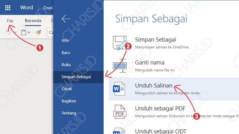 Microsoft Word Tidak Bisa Save File