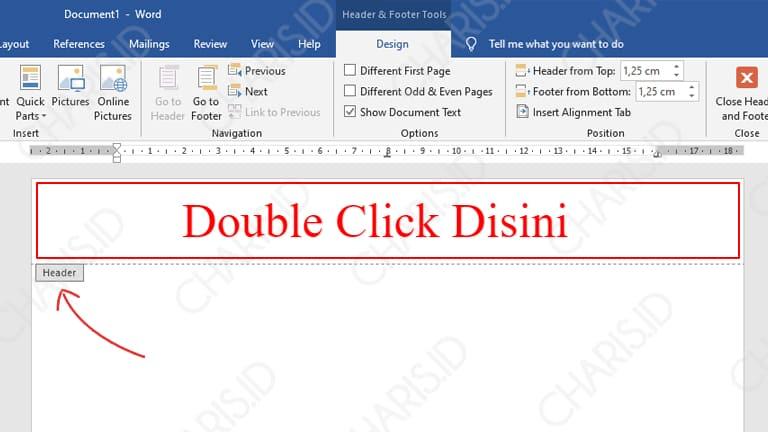 cara membuat kop surat di word 2007