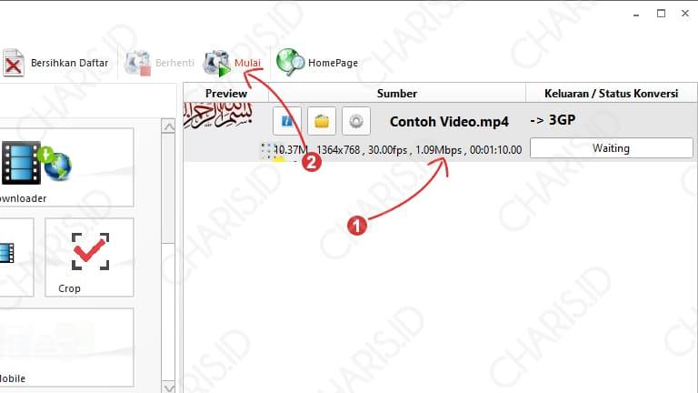 cara mengubah format video ke mp4