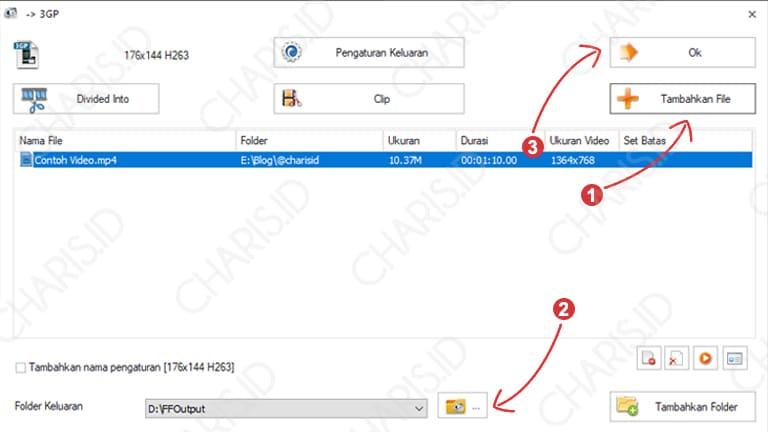 cara mengubah format video mp4