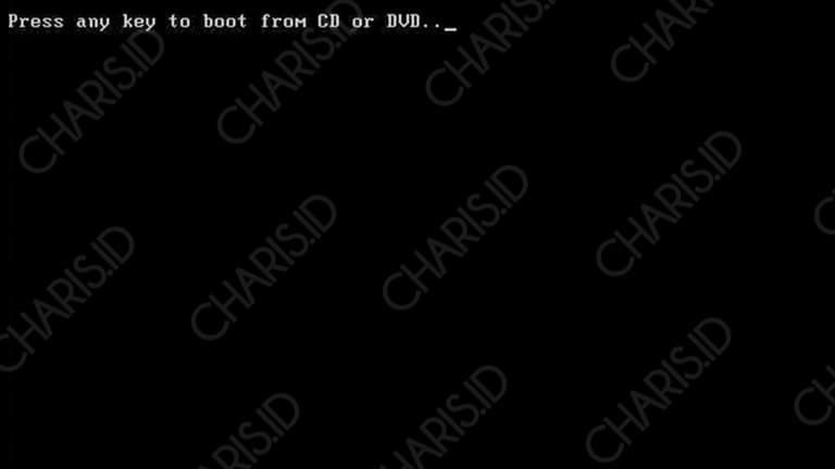 cara install windows 10 tanpa dvd