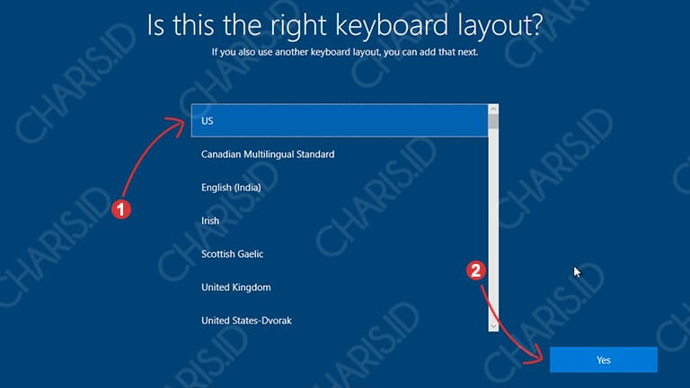 cara install windows 10 tanpa product key