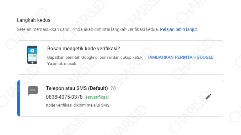 cara melindungi gmail