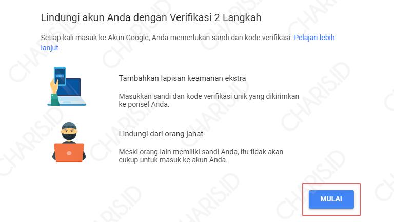 cara mengamankan gmail