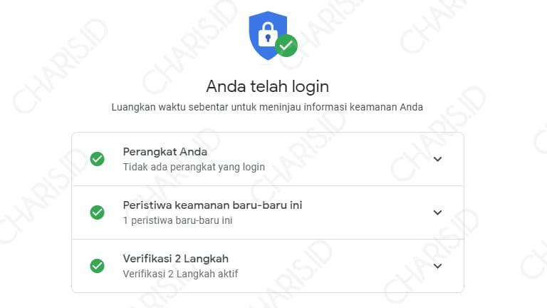 berhasil mengatasi lupa password gmail