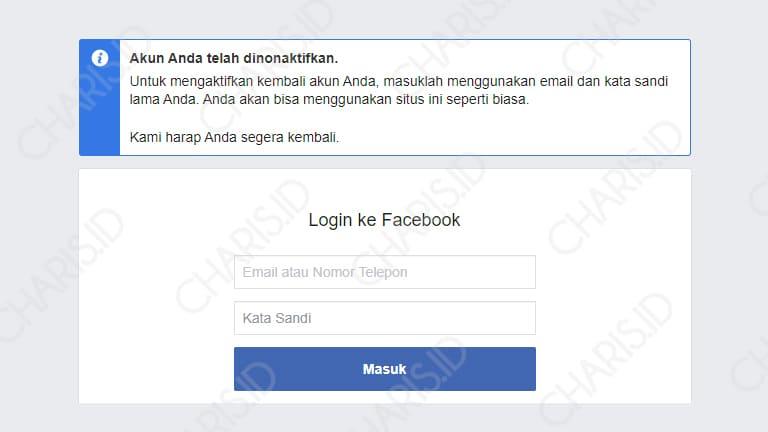 cara menghapus facebook