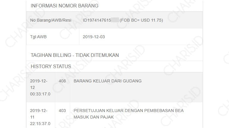 cek resi standard express indonesia
