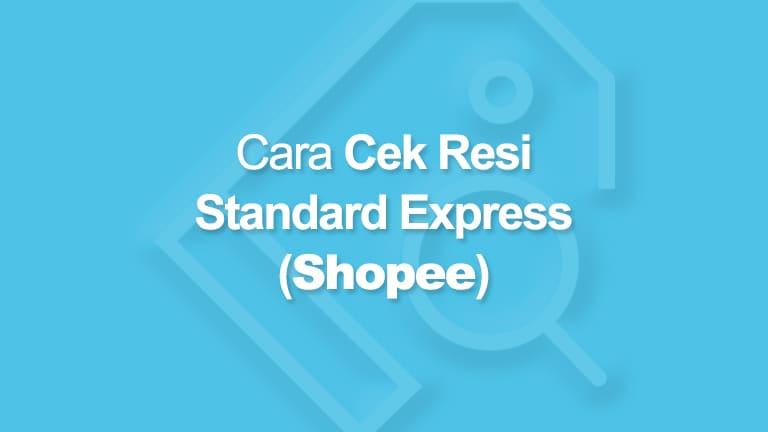 cek resi standard express