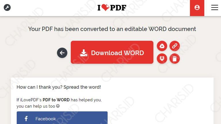 konversi pdf ke word