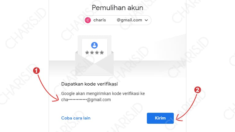 mengatasi lupa password akun gmail