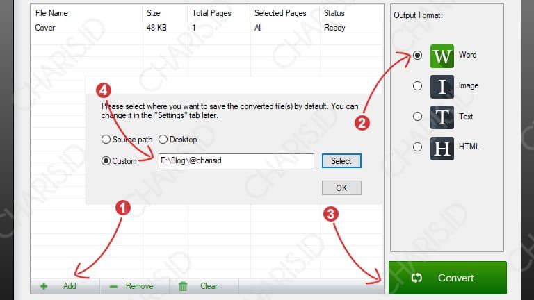pdf ke word online