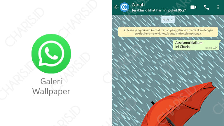 background whatsapp dengan galeri whatsapp