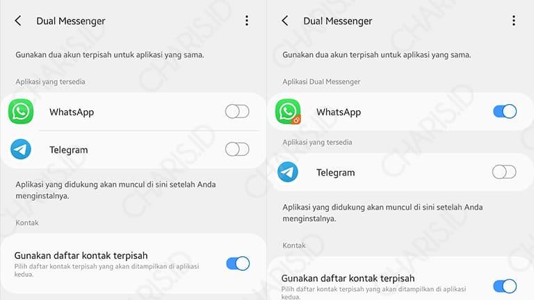 cara install 2 whatsapp dalam 1 hp