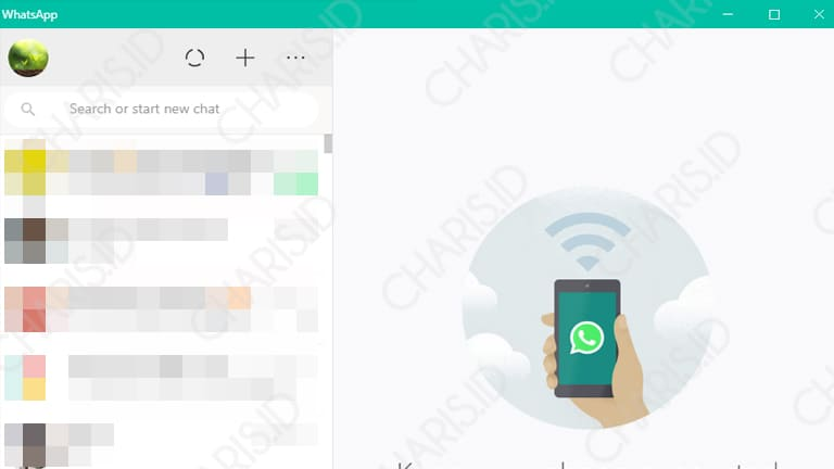 cara install whatsapp di windows
