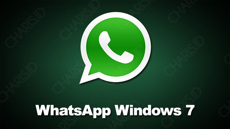 cara install whatsapp windows 7 32 bit