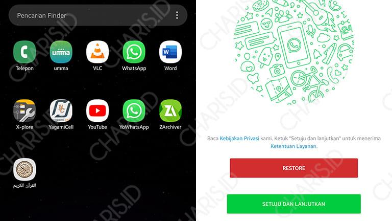 cara menggunakan 2 whatsapp tanpa aplikasi