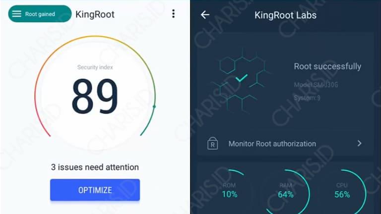 cara root samsung dengan kingroot