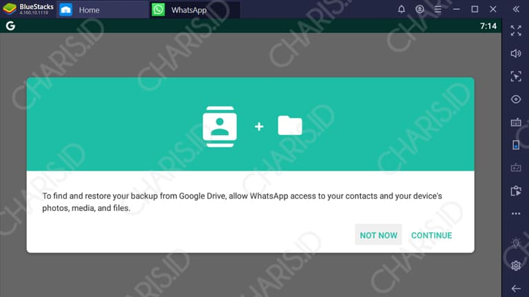 cara telpon whatsapp di pc