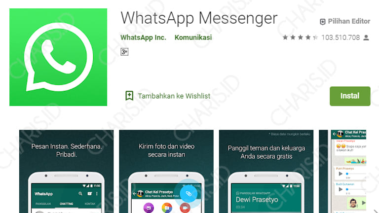 cara update whatsapp android
