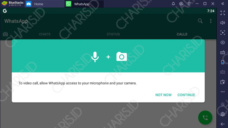 cara video call whatsapp di windows tanpa emulator