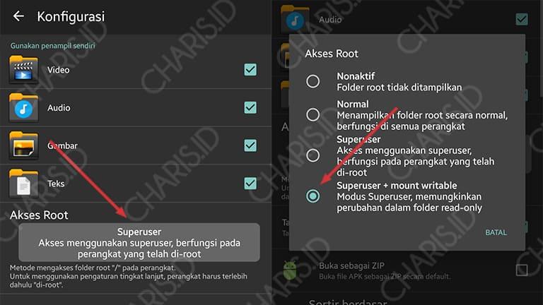 cara menghapus aplikasi android bawaan