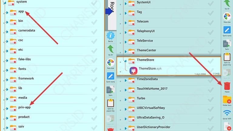 cara menghapus aplikasi android yg tidak bisa dihapus