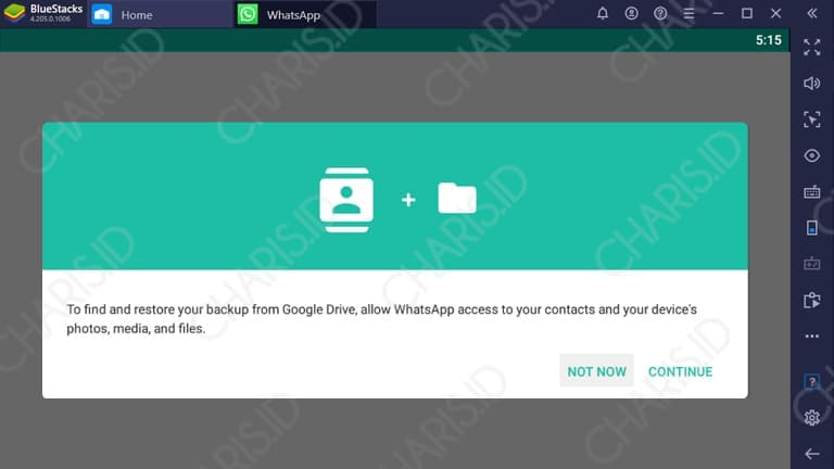 cara install whatsapp di windows