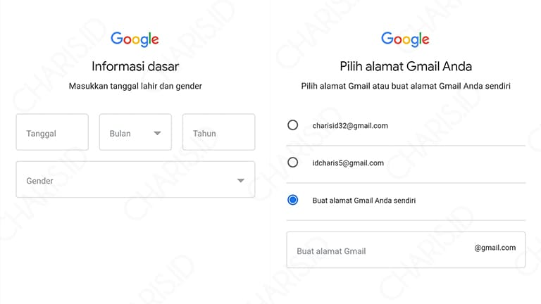 cara membuat account gmail
