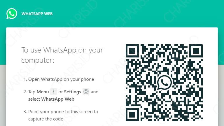 cara membuka whatsapp di laptop tanpa hp