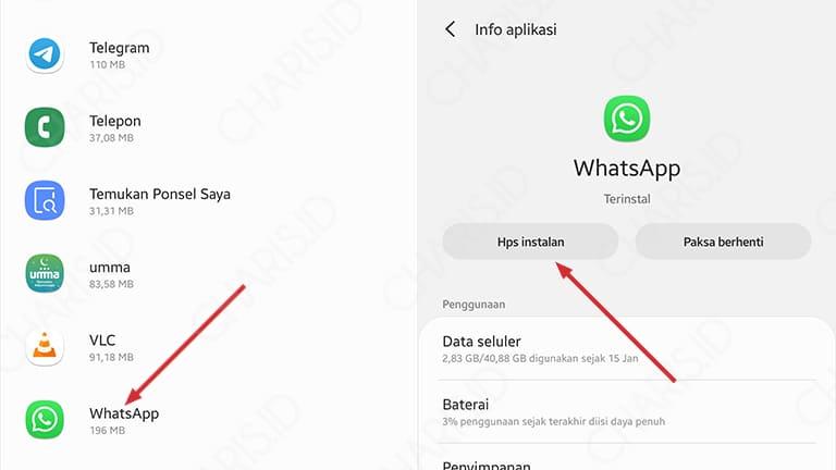 cara memperbarui whatsapp android