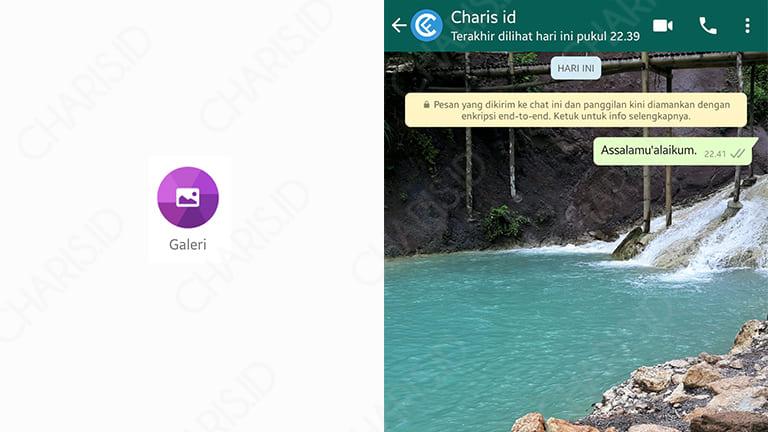 cara mengganti background layar utama di whatsapp