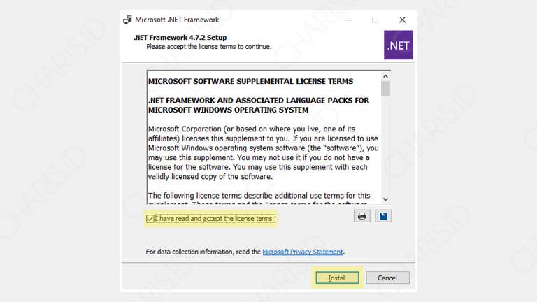 aplikasi laptop tidak bisa diinstall