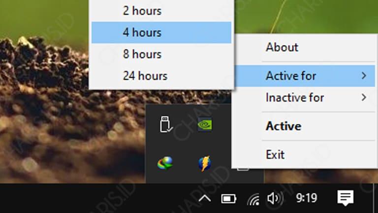 cara agar komputer tidak sleep windows 10