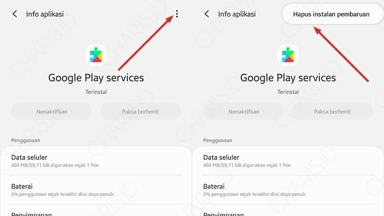 cara mengatasi google play terhenti
