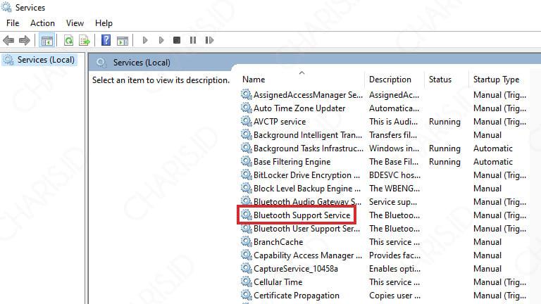 bluetooth laptop tidak bisa menerima file