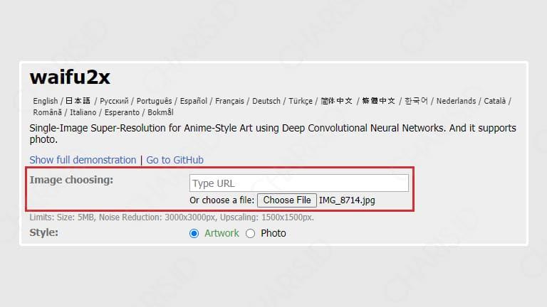 cara memperbesar ukuran foto jpg online