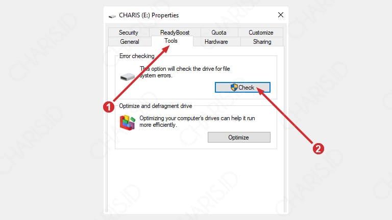 cara memperbaiki flashdisk yang tidak terbaca sama sekali