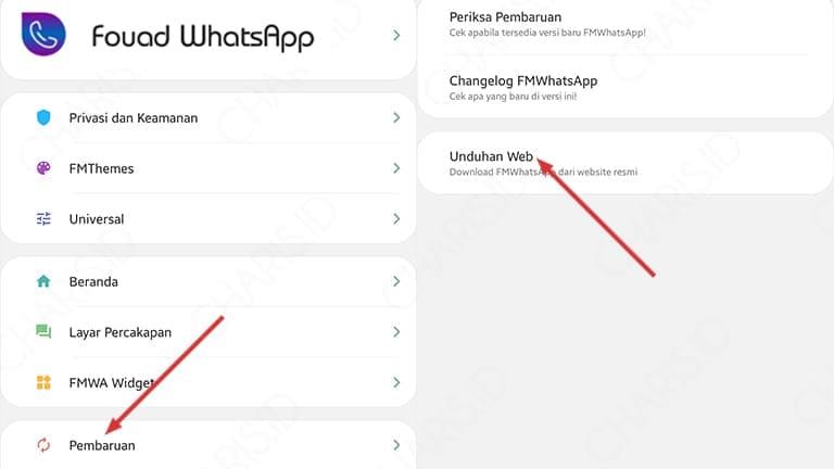 Download Aplikasi Fouad WhatsApp
