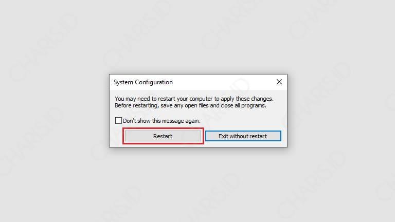 cara masuk safe mode windows 10 acer